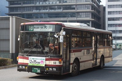 京都バス18系統