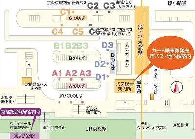 京都駅バスターミナル