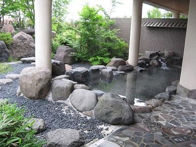 桜ヶ池温泉は高速道路直結のお風呂です