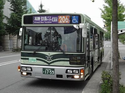 京都市バス206系統