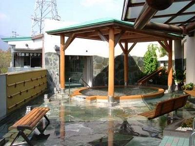 美濃田の湯は高速道路直結のお風呂です