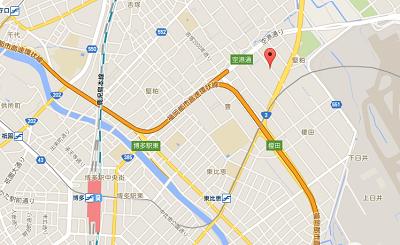 博多由布院・武雄温泉万葉の湯地図