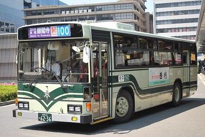 京都市バス100系統