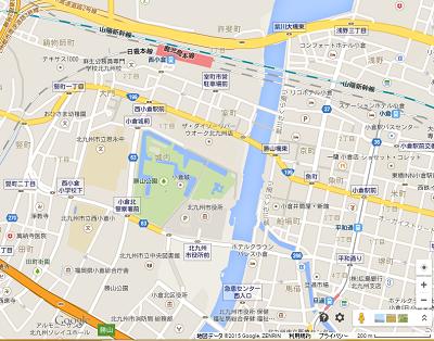 勝山公園地図