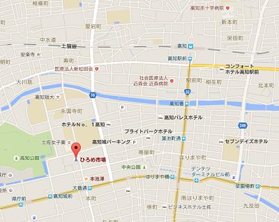 高知ひろめ市場地図