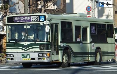 京都市バス北8系統