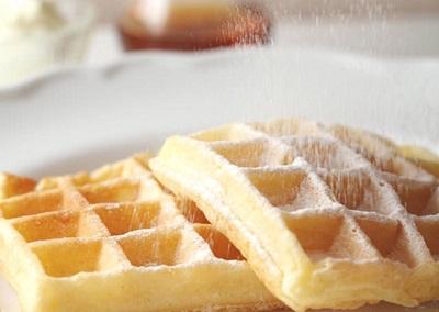アメリカンワッフル発酵バターバニラ