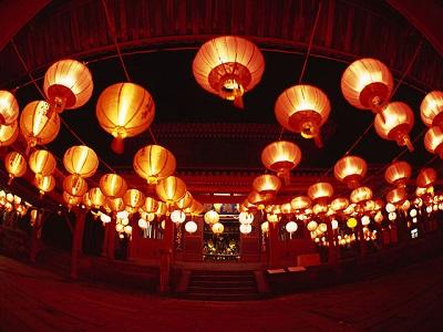 長崎ランタンフェスティバル崇福寺
