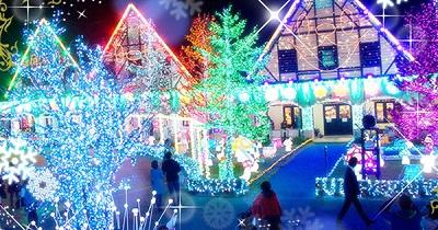 ドイツ村イルミネーション光と音と香りのショー