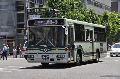 京都市バス5系統
