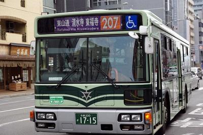 京都市バス207系統