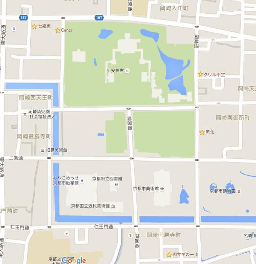 平安神宮周辺ランチマップ