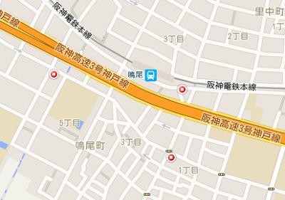 鳴尾駅周辺のコインパーキング