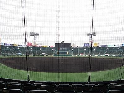 甲子園球場TOSHIBAシート眺め
