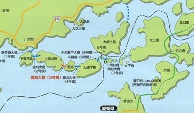 安芸灘とびしま海道詳細図