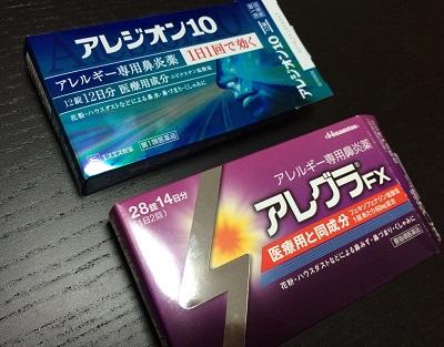 花粉症市販薬