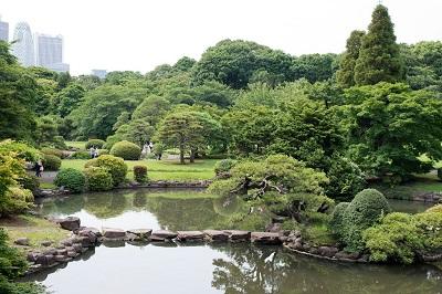 新宿御苑日本庭園
