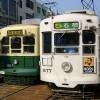 長崎路面電車2両