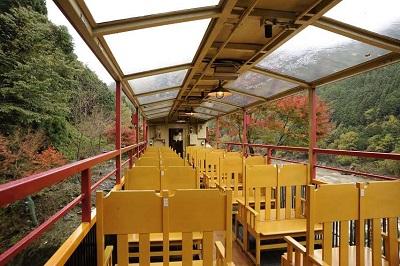嵯峨野トロッコ列車リッチ号